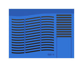 Photo Air conditioning vector illustration.