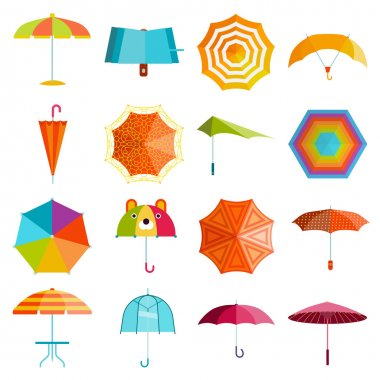 Umbrella vector set.
