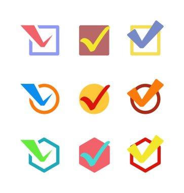 Check vote icon button