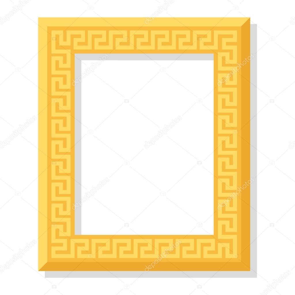 Vector de marco de foto aislada — Archivo Imágenes Vectoriales ...