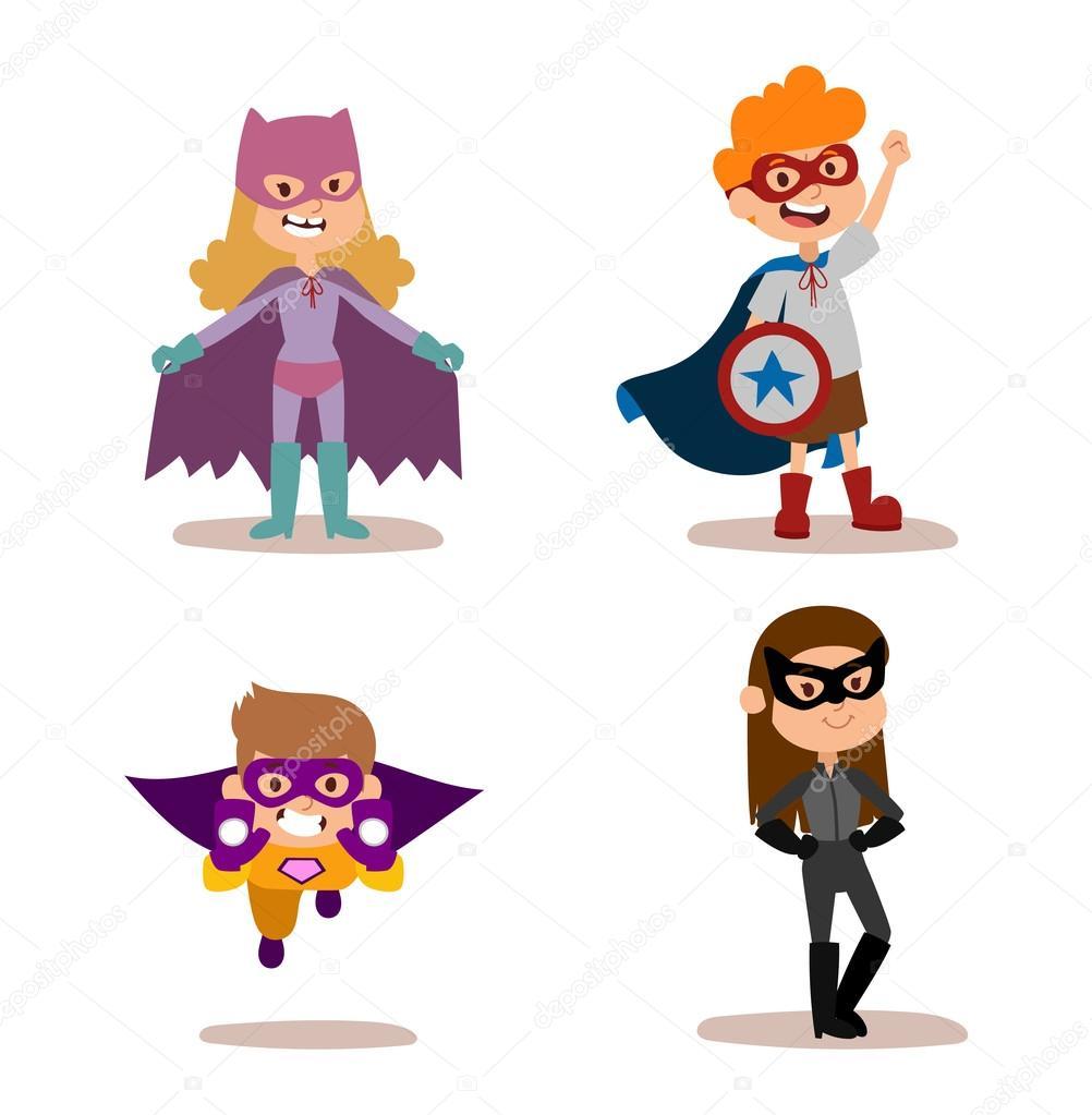 super her u00f3i crian u00e7as meninos e meninas dos desenhos girl superhero clip art free girl superhero clip art flying