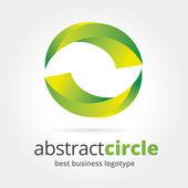 abstraktní vektorová loga koncepce izolovaných na bílém pozadí. klíčové myšlenky je obchod, abstraktní, zkroucení, kreativní, velení, barva, umění a design. koncept pro firemní identity a značky