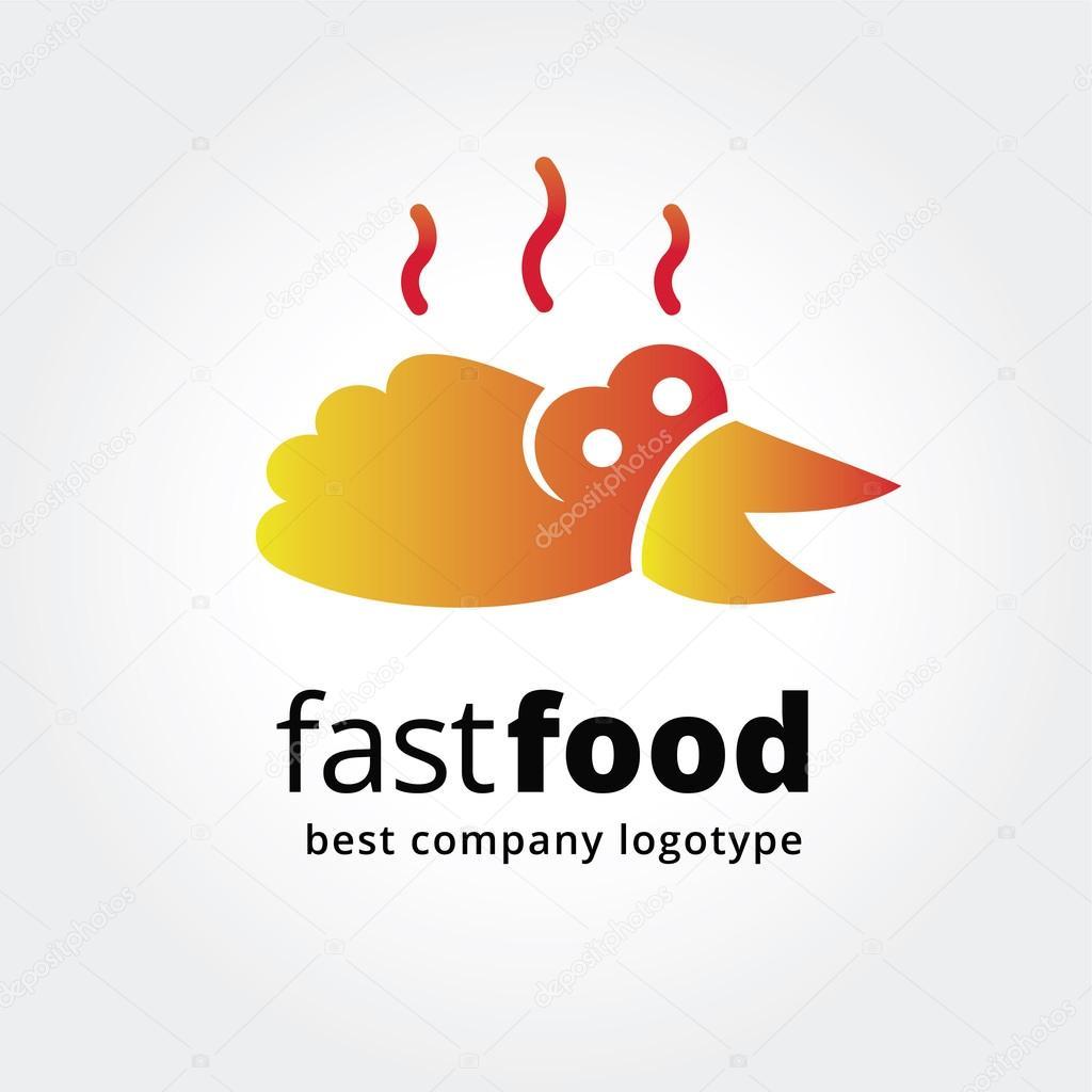 Fotografía: ideas de logo para | Concepto de comida rápida Resumen ...