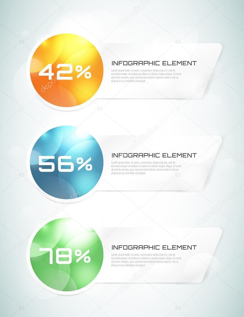 Vector banner infografía la plantilla. Procesos de diseño de ...