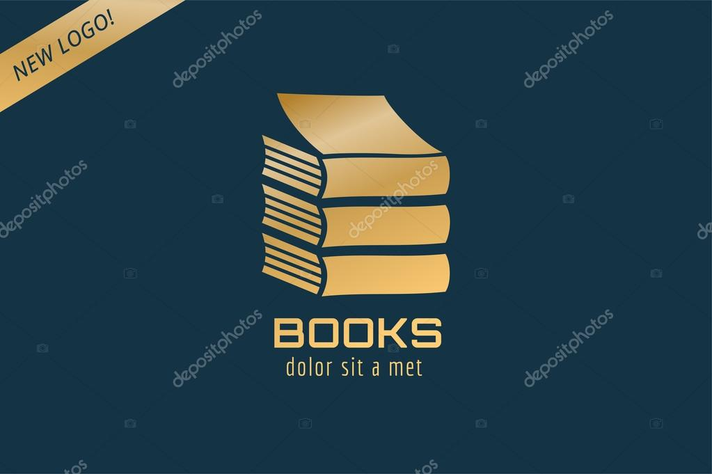 book template logo icon back to school education university