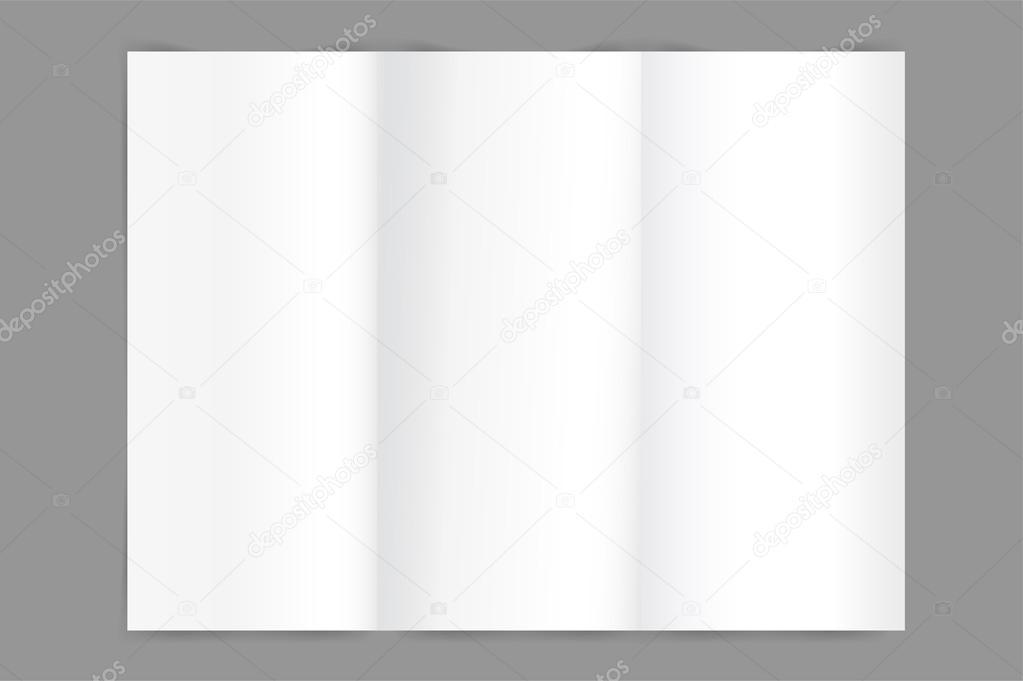 Vector Broschüre leere Vorlage. Abstrakt Flyer Design und kreative ...