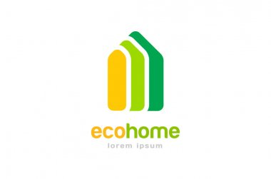 Bank, finance organization vector logo template