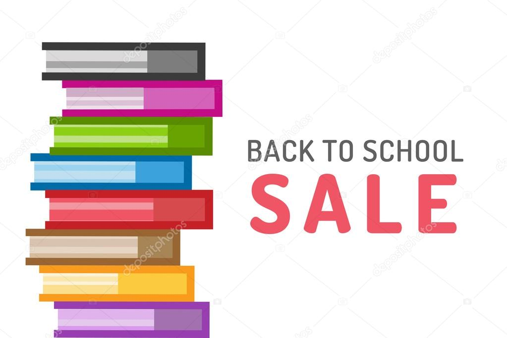 College Books For Sale >> Books Vector Logo Icons Set Sale Background Stok Vektor C Adekvat