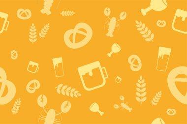 Holiday Oktoberfest Seamless Pattern