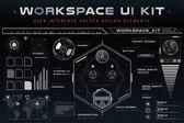 UI hud infographic rozhraní webové prvky