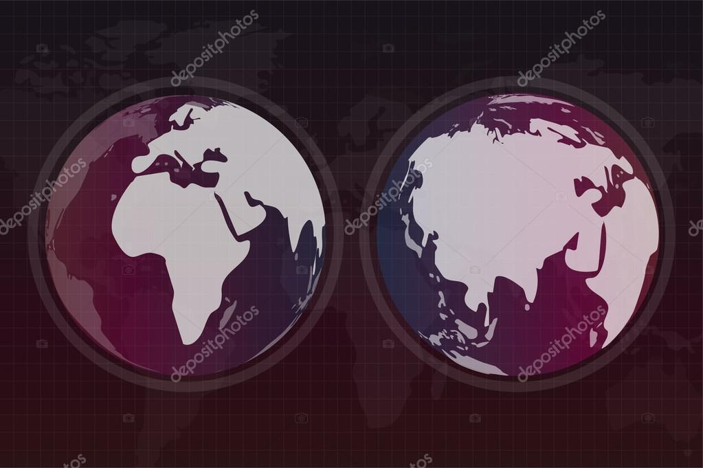 World vector map globe earth texture vector de stock adekvat globe vector map view from space globe earth silhouette technology background geography world vector earth globe silhouette world map wallpaper earth gumiabroncs Gallery