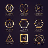 Massive logo set bundle vector icons badge