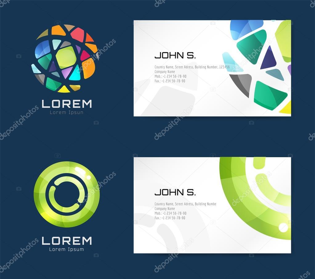Vector business card template set vetor de stock adekvat 88232286 vector business card template set vetor de stock reheart Images