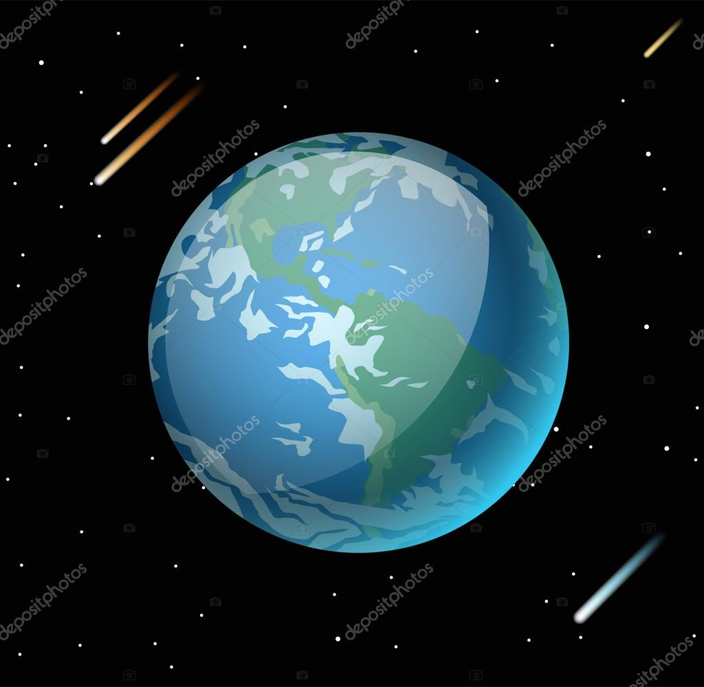 Earth planet 3d vector illustration vector de stock adekvat globe earth texture map globe vector earth view from space globe earth illustration geography world vector earth globe silhouette world map 3d earth gumiabroncs Gallery