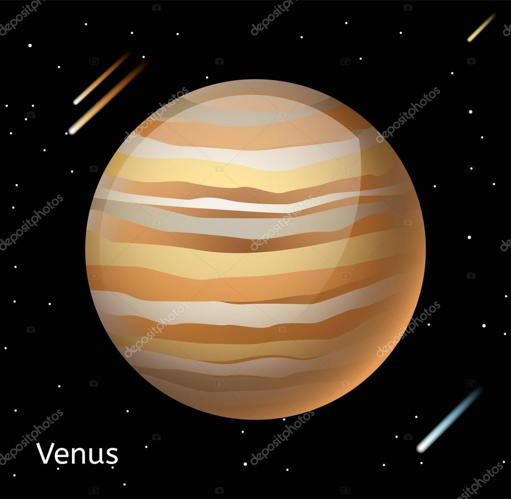 Venus planet 3d vector illustration archivo imgenes vectoriales globe venus texture map globe vector venus view from space venus illustration vector venus planet venus planet silhouette world map 3d venus vector gumiabroncs Gallery