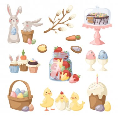 Easter holiday vector illustration