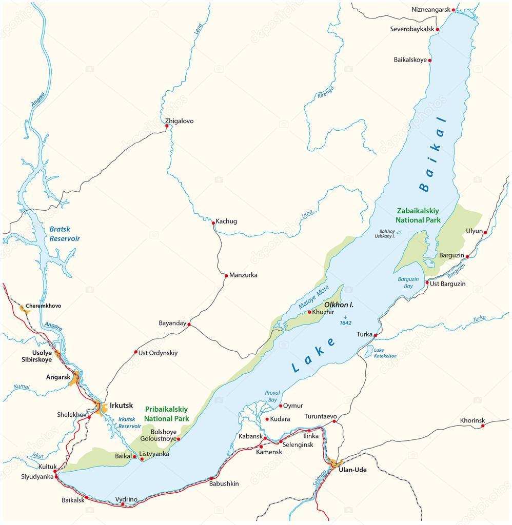 Lake Baikal map, Russia — Stock Vector © Lesniewski #114892812 on slavic russia map, ural mountains russia map, siberia russia map, lake ladoga russia map, volga river russia map, vladivostok russia map, lake balkhash russia map, mt. elbrus russia map, kalmykia russia map, caucasus mountains russia map, pechora river russia map, yamal peninsula russia map, tuva russia map, altai krai russia map, aral sea map, samarkand russia map, india russia map, novgorod russia map, north pole russia map,