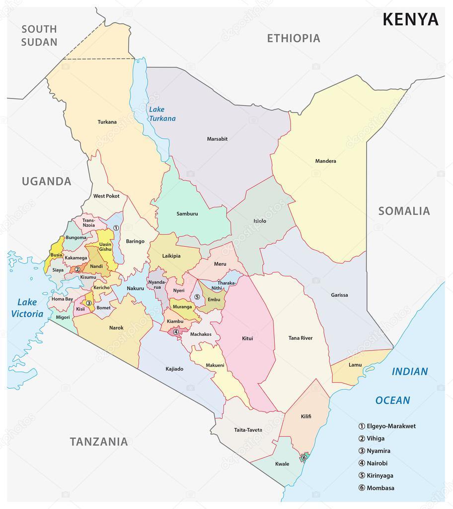 Sudan and South Sudan Political Map Stock Vector Furian 50903343