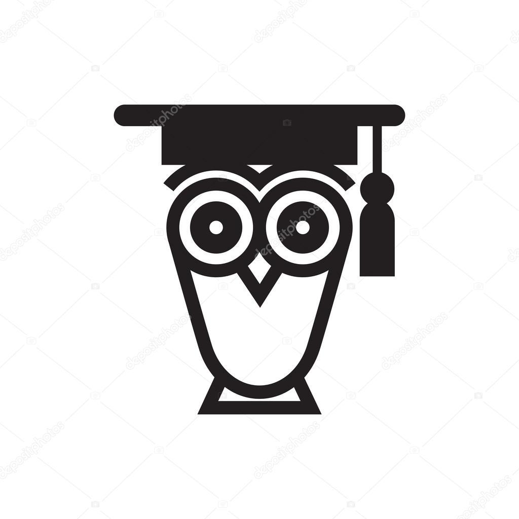 Simbolo Del Gufo Educativo Vettoriali Stock Bluebright 74336243