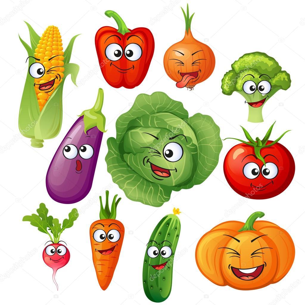 Dibujos Vegetales Vegetales Personajes De Dibujos