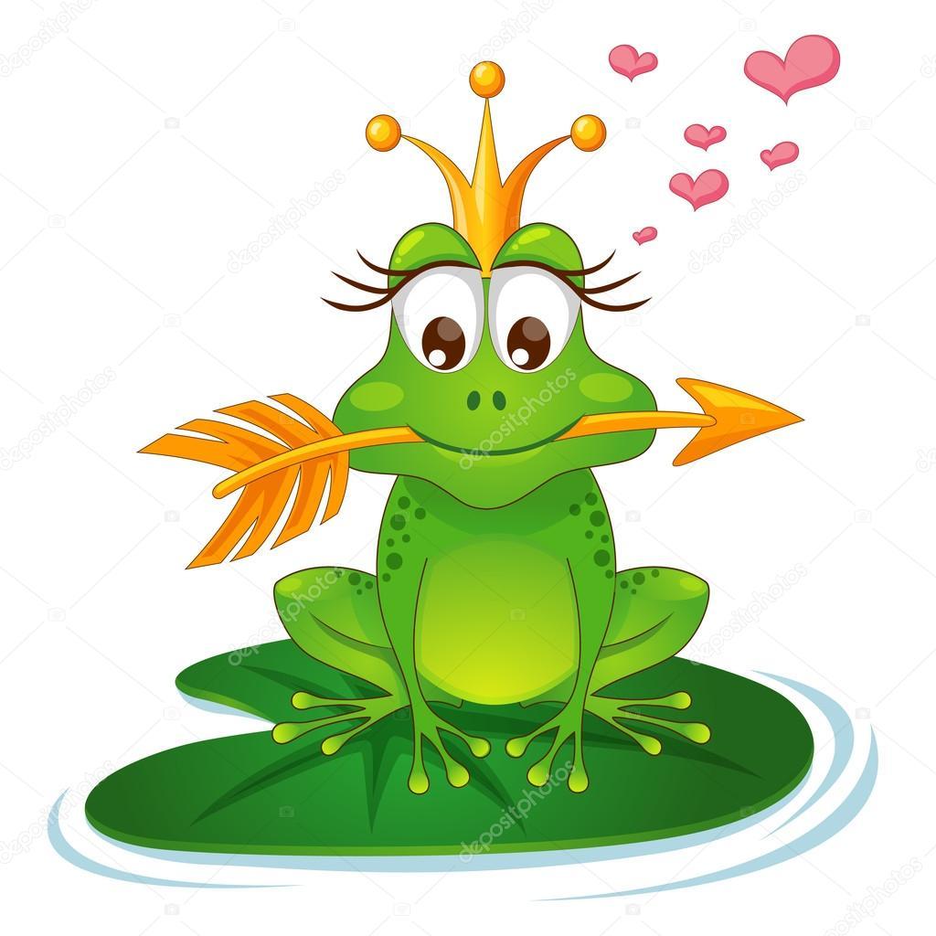лягушка со стрелой картинки