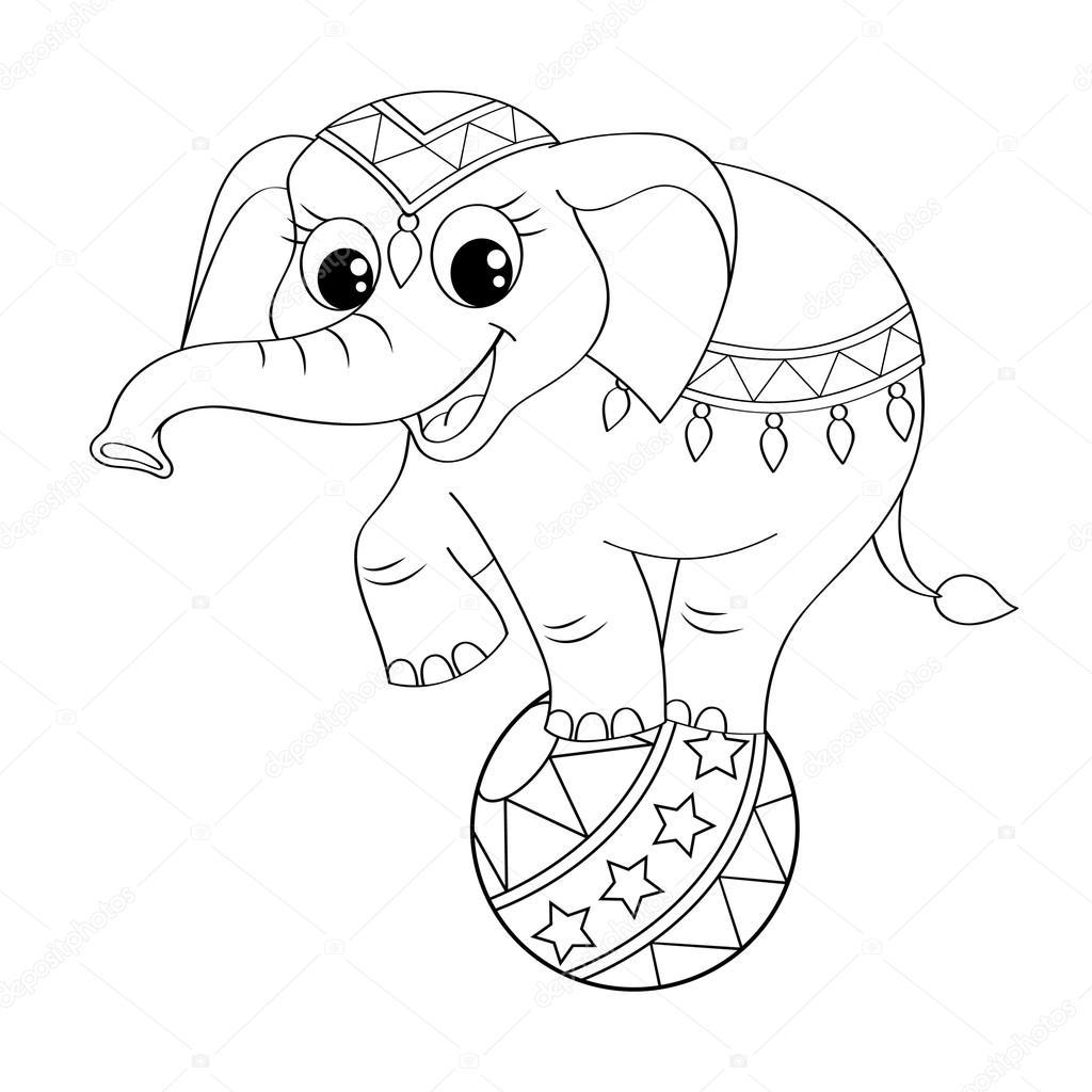 Imágenes Animales De Circo Caricaturas Elefante De Circo De