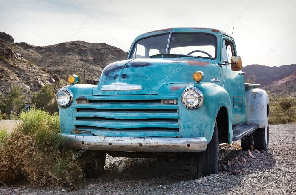 Old rusty truck in Nelson Nevada Ghost town – Stock Editorial Photo ...