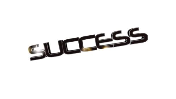 The word success in black letters by seal Approved