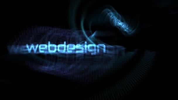 Web design orientovaný slova