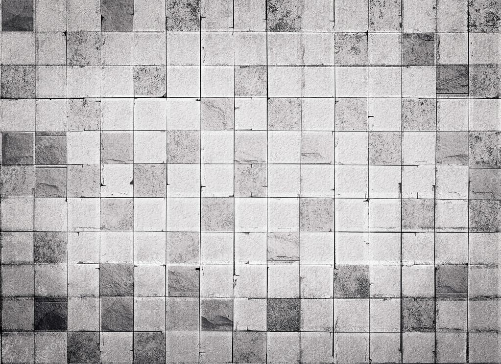 Grunge texture bianco e grigio piastrelle pavimento per sfondo
