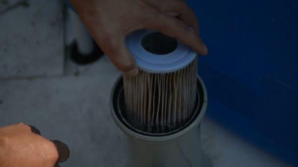 filtry pro čištění bazénů