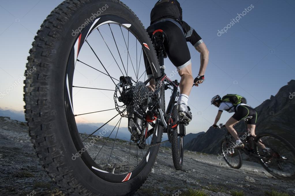 bike cycling race - mountainbike