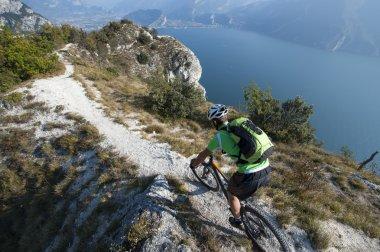 mountainbike adventure  - garda lake