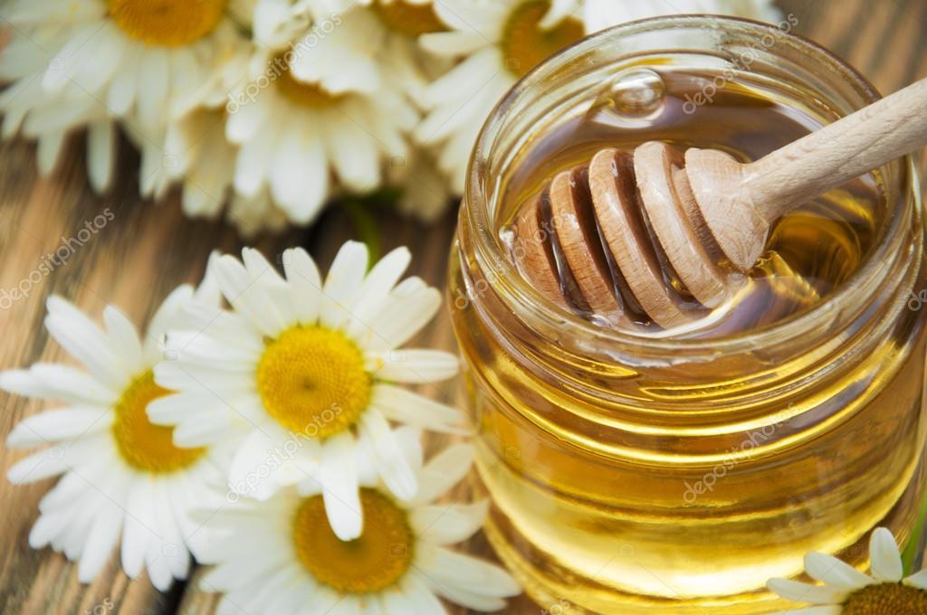 Диета мед с ромашкой