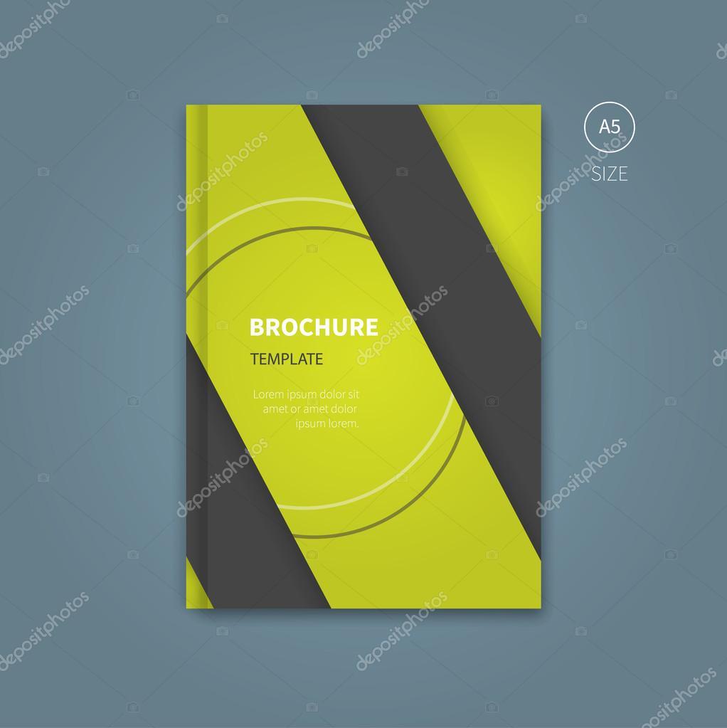 Business-Flyer-Broschüre-Template für Buch — Stockvektor ...