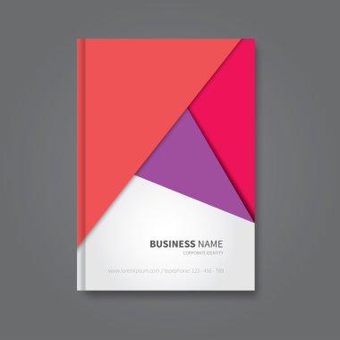 book template in material design