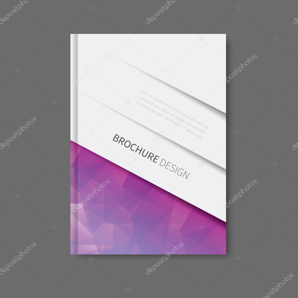 plantilla de diseño de libros corporativos — Archivo Imágenes ...