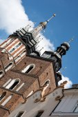 Church of St Mary in Krakow (Poland)