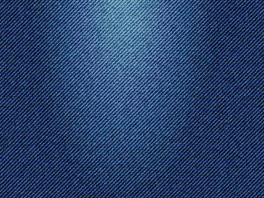 Blue jeans texture, vector