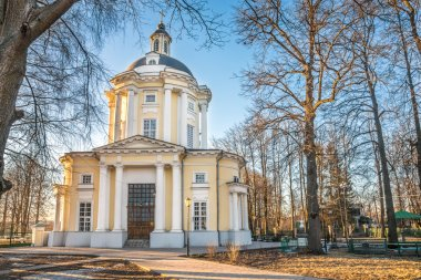 The Temple of the Vladimir Icon of the Mother of God in the estate Vinogradovo.