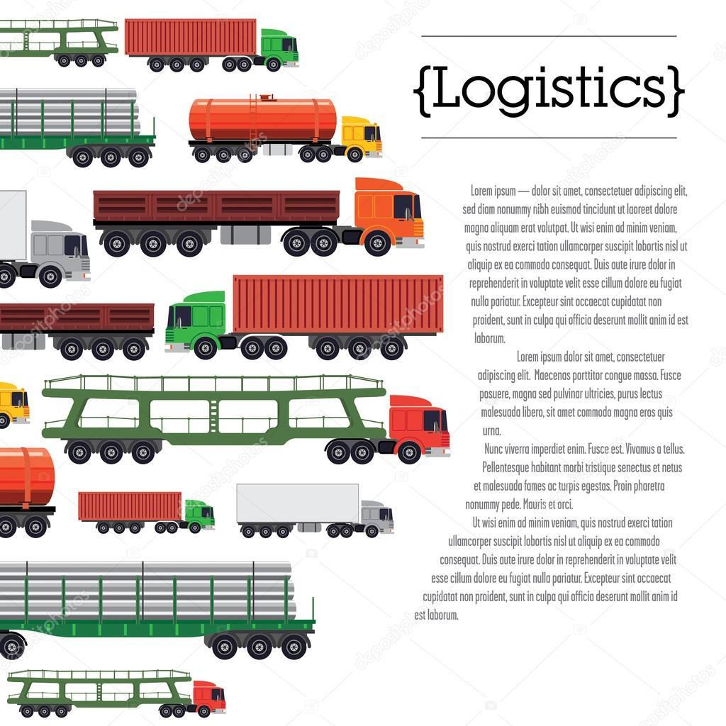 Transportation layout template