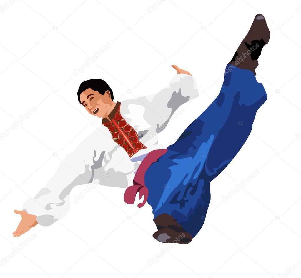 ukrainian dance gopak � stock vector 169 shepherd302 52679493