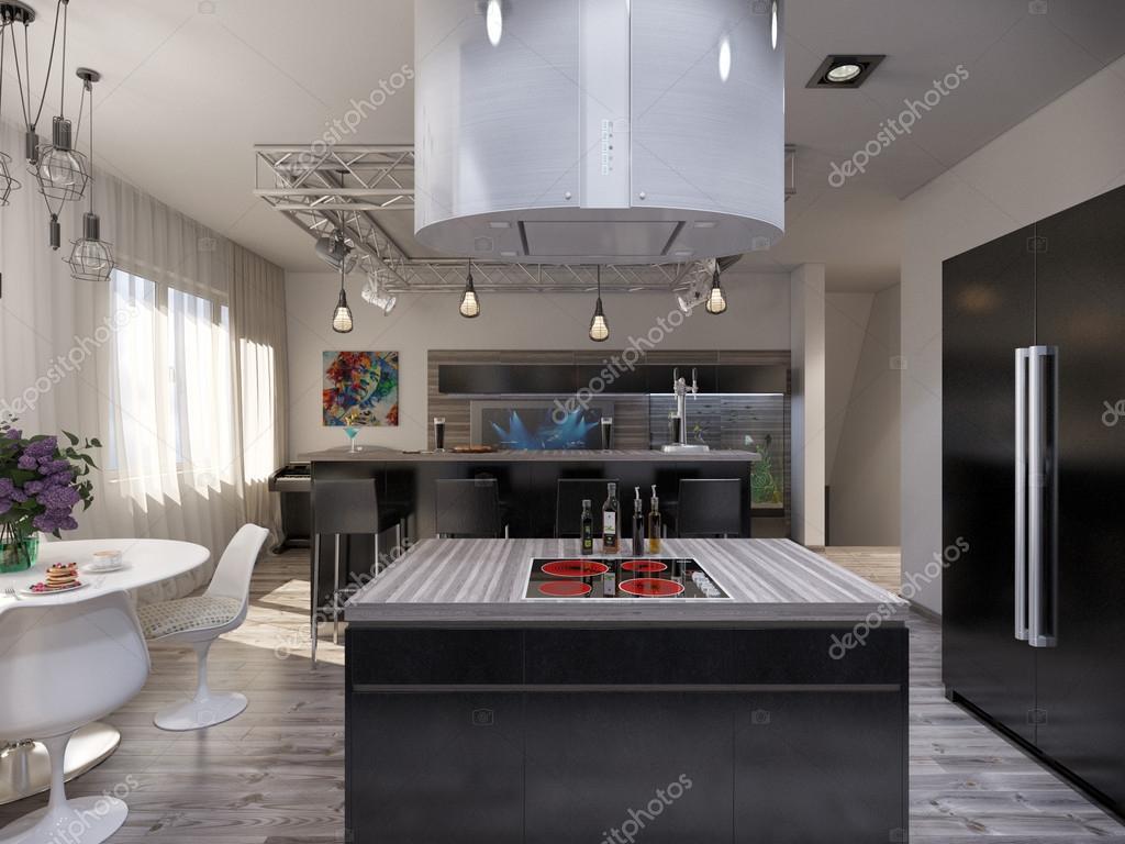 Dise o de cocina comedor y living casa dise o for Diseno cocina comedor living