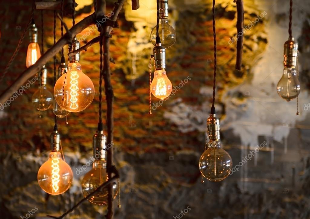 Luxury vintage illuminazione interni lampada arredamento u foto