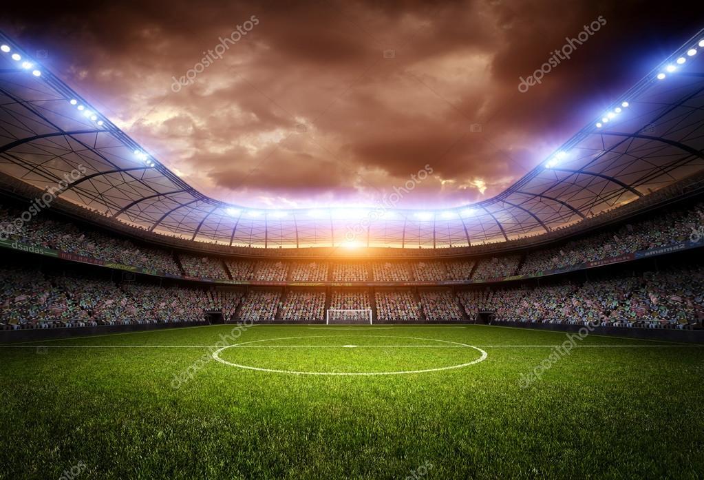 Fondo De Pantalla Linda Futbol: Fondo Del Estadio Del Fútbol