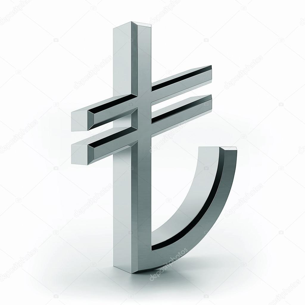Turkish lira symbol stock photo efks 54491599 3d turkish lira symbol photo by efks buycottarizona