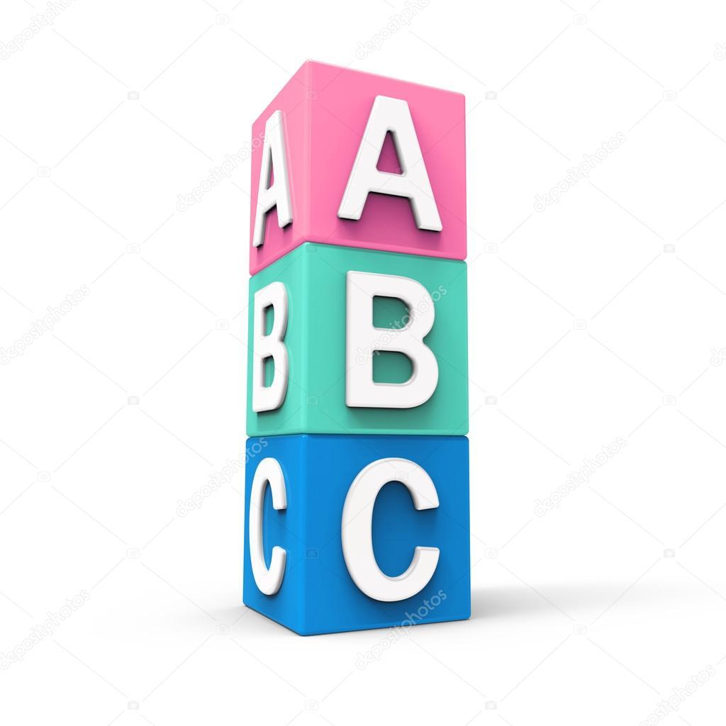 Blocchi Cubo Alfabetici Foto Di Efks