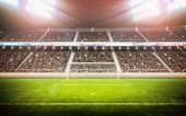 Fotografie fotbalový stadion