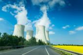Nuclear power plant Temelin in Czech Republic. Europe.