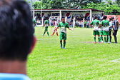 dospělí muži sportovní, fotbalový zápas mictlan vs sayaxc